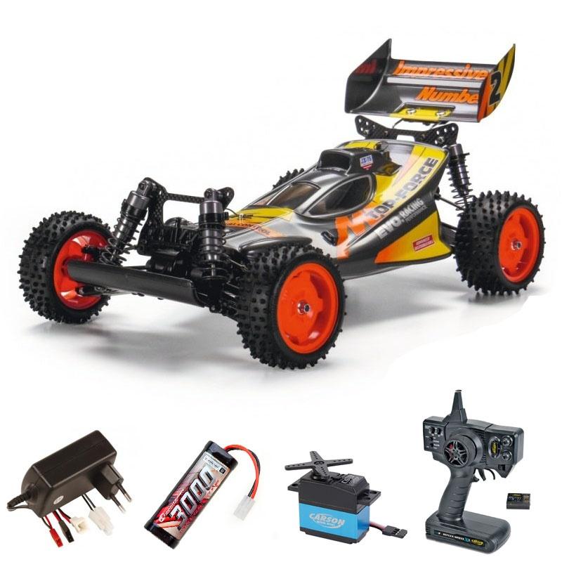Top Force Evolution (2021) 4WD PB 1:10 Komplettset