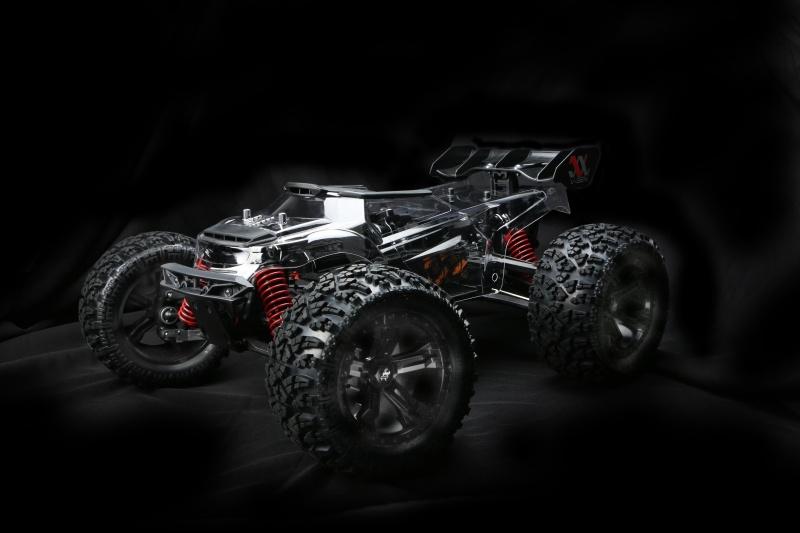E6 III V-GEN 4WD Monster Truck 1/8 ARR (ohne Elektronik)