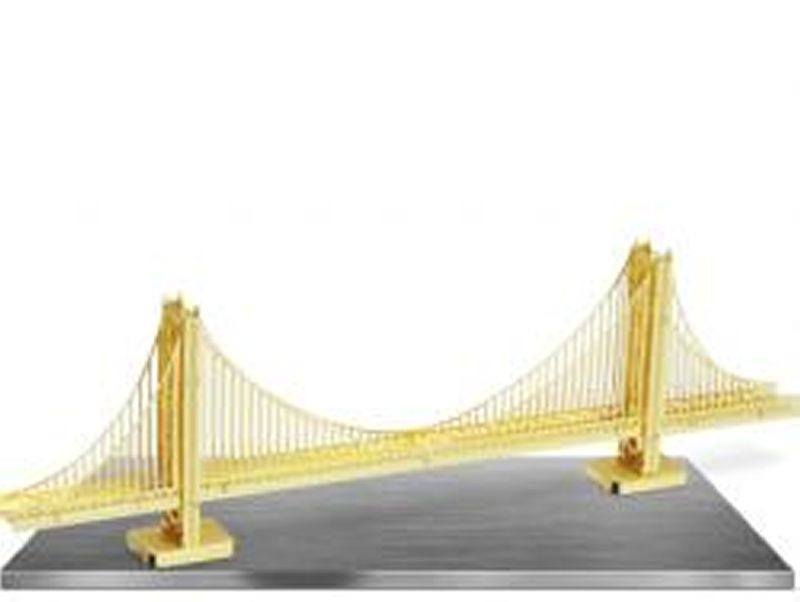 Golden Gate Bridge Gold Edition