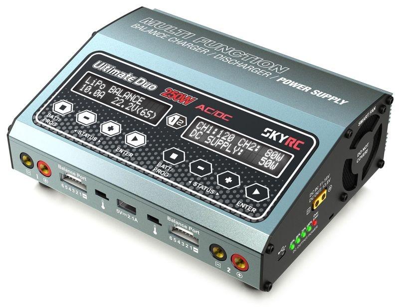 Duoladegerät D250 AC/DC LiPo 1-6s 10A 250W