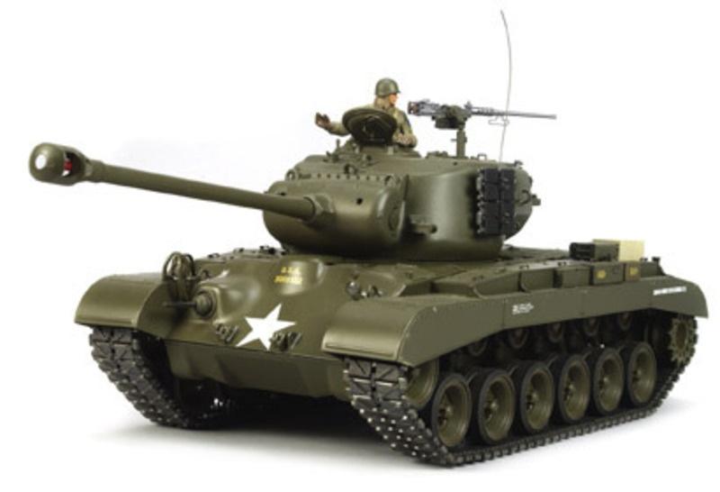 US-TANK M26 PERSHING 1:16 Panzer Bausatz