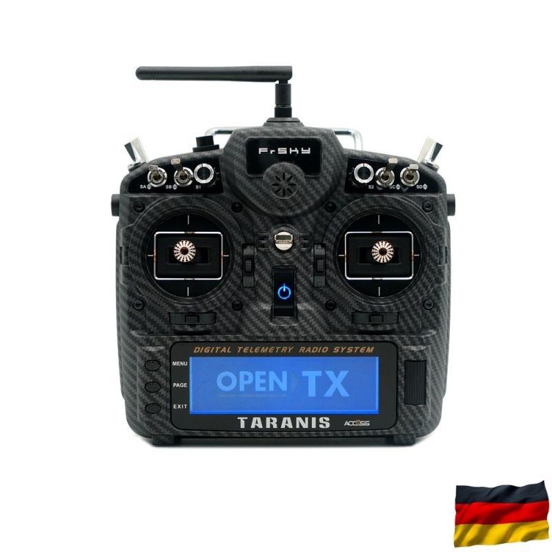 TARANIS X9D plus 2019 SE EU/LBT Sender Carbon Fiber