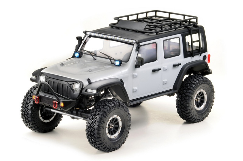 EP Crawler CR3.4 SHERPA White Edition 1:10 RTR 2,4Ghz