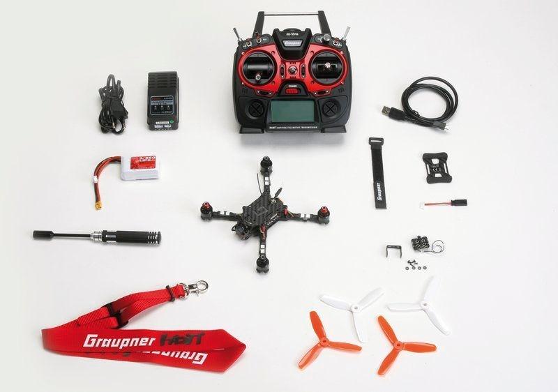 Alpha 170Q FPV Race Quadrocopter 2,4GHz RTF mit Rucksack