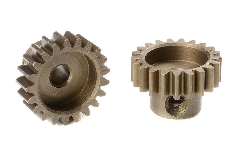 Motorritzel gehärteter Stahl Modul 0,6, 21T (3,17mm Welle)
