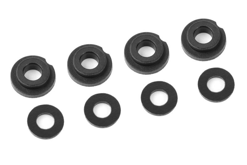 Kunststoff Scheiben für Stoßdämpfer 1/8 Kronos