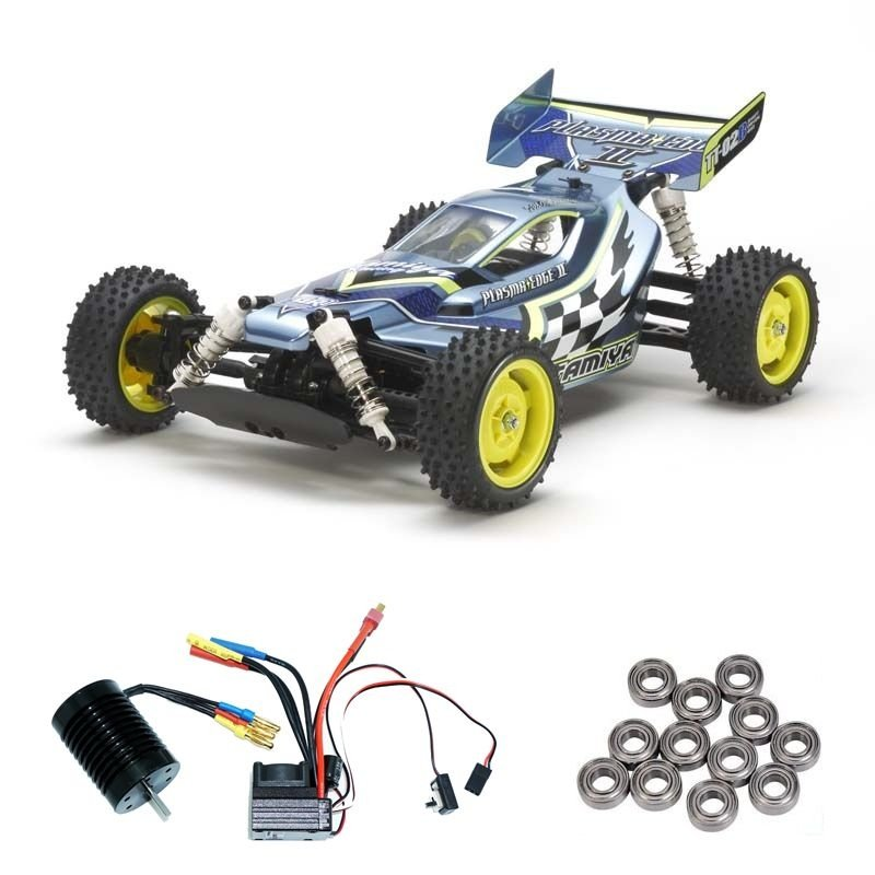 Plasma Edge II 1:10 4WD Buggy TT02B Brushless-Edition +Lager