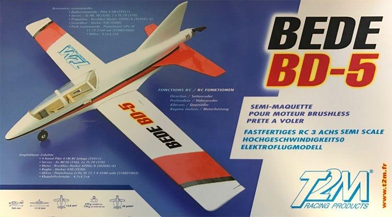 Bede BD-5 GFK Elektroflugmodell