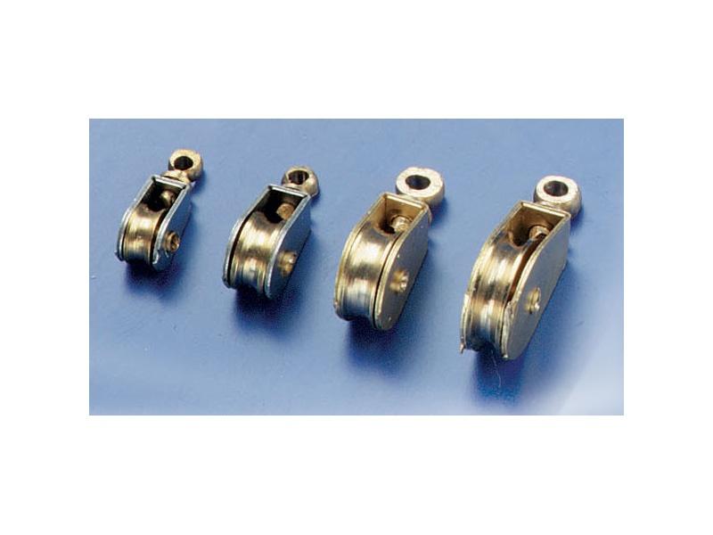 Messingblock 4 mm Bausatz (4 Stück)