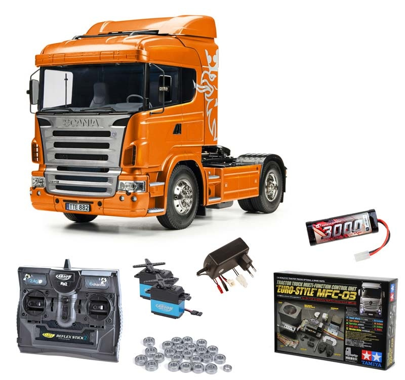 Scania R470 4x2 Orange Edition Komplettset inkl.MFC-03,Lager