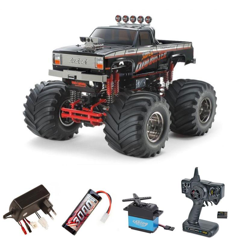 Super Cloud Buster Black 4WD Bausatz 1:10 Komplettset