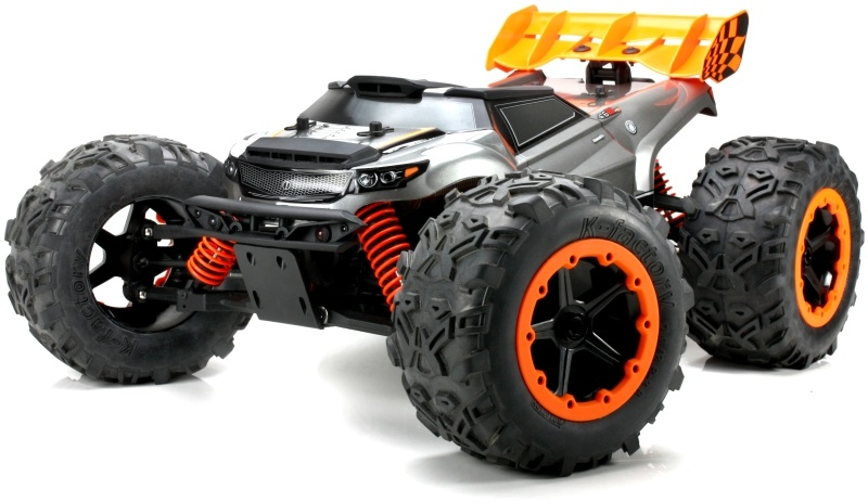 E6 III HX WD Monster Truck 1/8 Brushless 3-6S LED 2,4GHz RTR