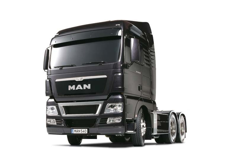 Truck MAN TGX 26.540 Gun Metal Edition RC Bausatz 1:14