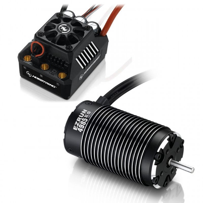 Ezrun MAX6 Brushless Combo SL 4985 1650kV Sensorless