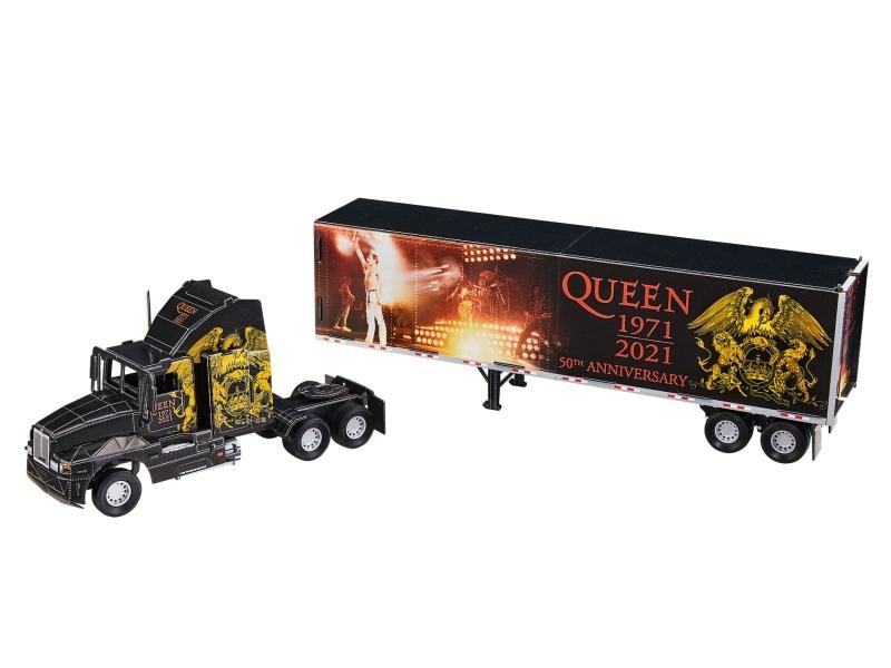 3D Puzzle Tour Truck QUEEN, 50 Jahre Queen