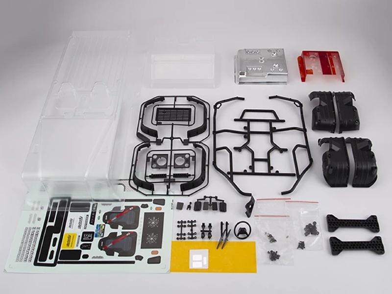 Marauder II Karosserie Set (klar) für Axial SCX10, SCX10II