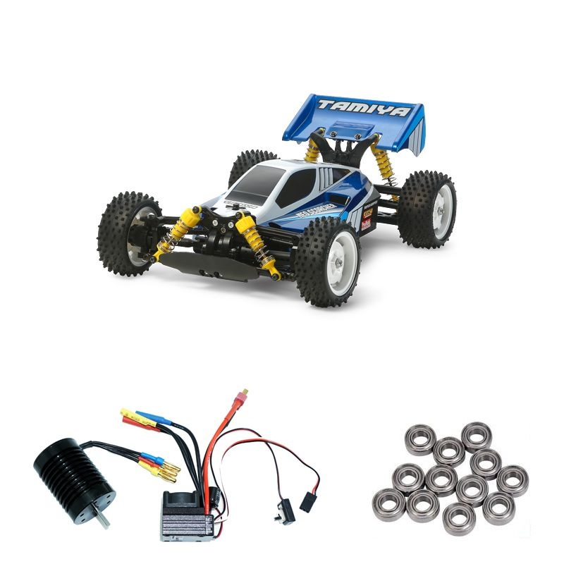 Neo Scorcher TT-02B 4WD Buggy Brushless-Edition + Kugellager