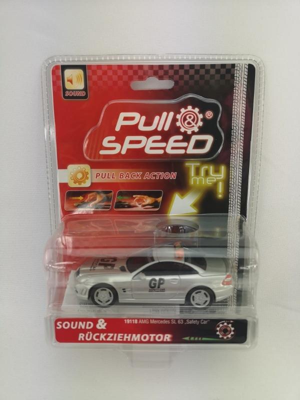 Pull & speed 1:43 mit Rückziehmotor AMG Mercedes SL 63