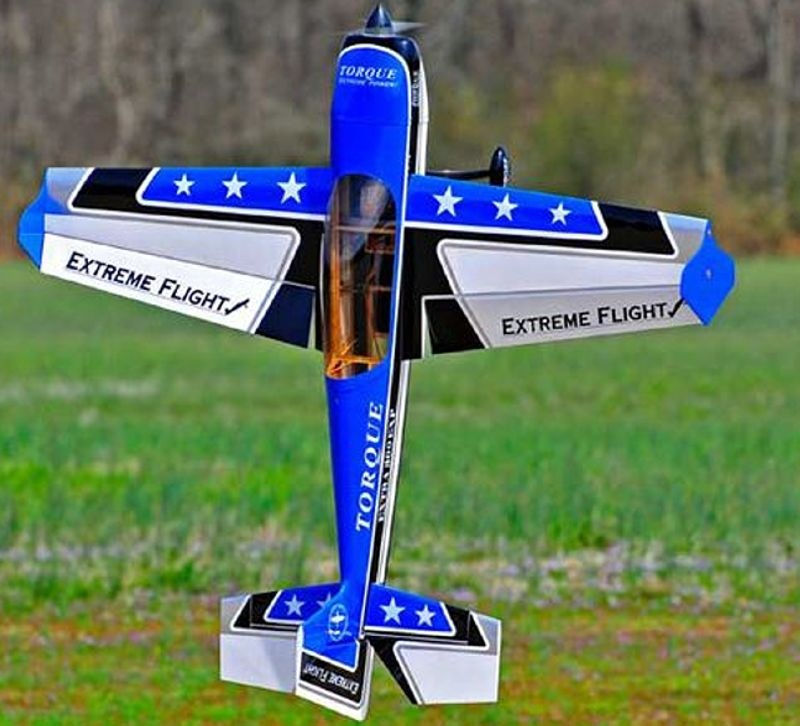 Extra 300 EXP 48 - 1219mm Flugmodell ARF Kit, blau