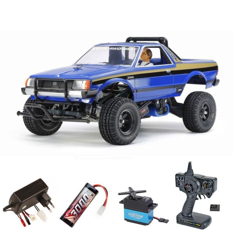 Subaru Brat Blue Version 1:10 Bausatz 2,4GHz Komplettset
