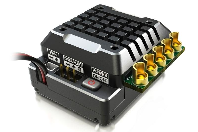 Fahrtenregler Toro TS120A für 1/10 2-3s LiPo Black Alu