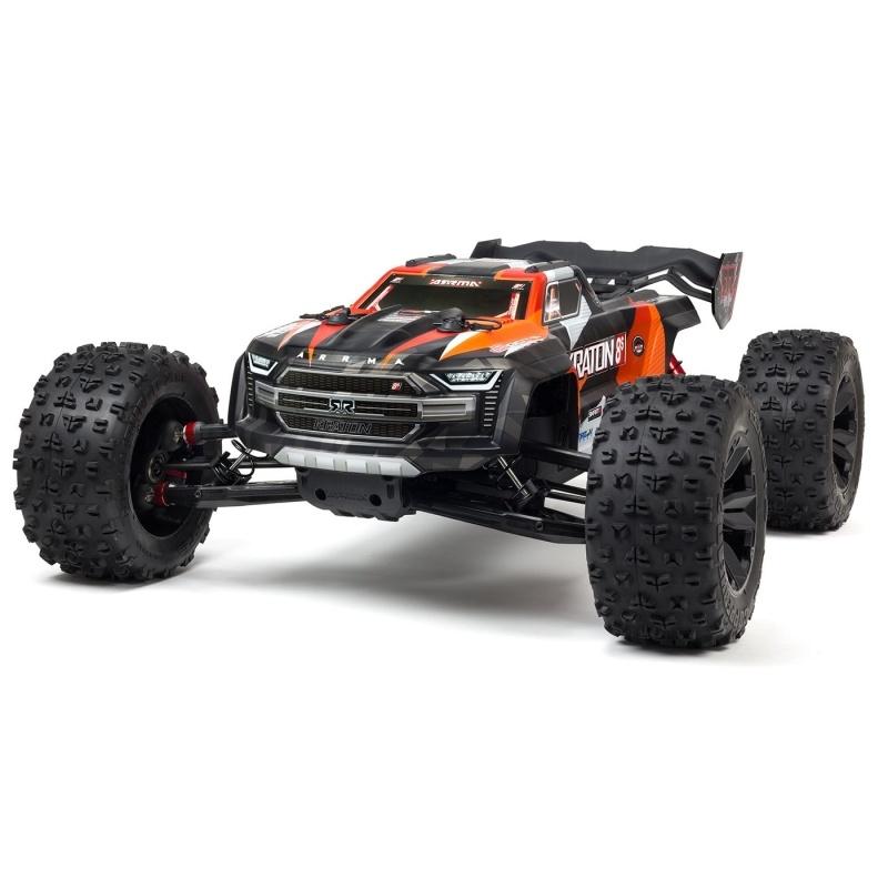 Kraton 8S BLX Brushless 4WD Monster Truck 1:5 RTR orange