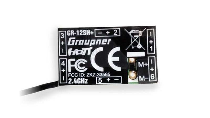 GR-12SH+ HoTT - 2.4 GHz Empfänger