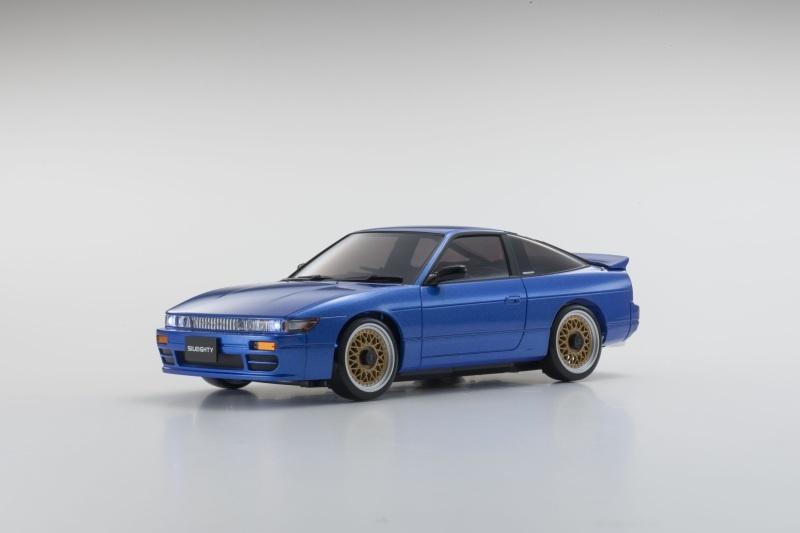 Mini-Z Karosserie Nissan Sileighty Blue (MA020)
