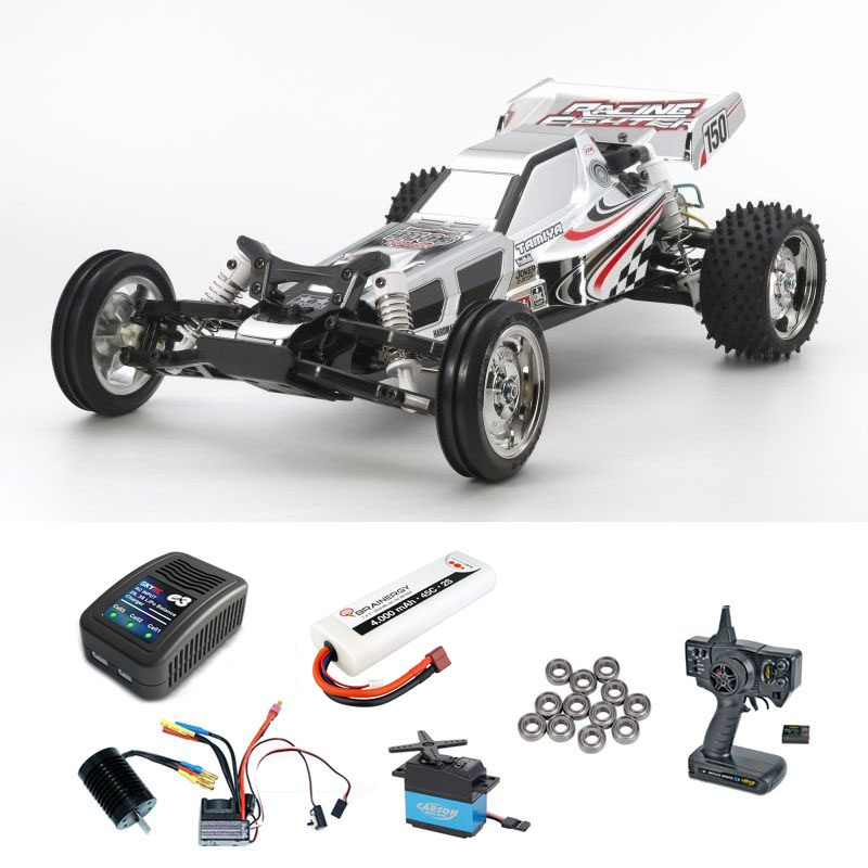 Racing Fighter Chrome (DT03) 2WD Buggy Brushless Komplettset