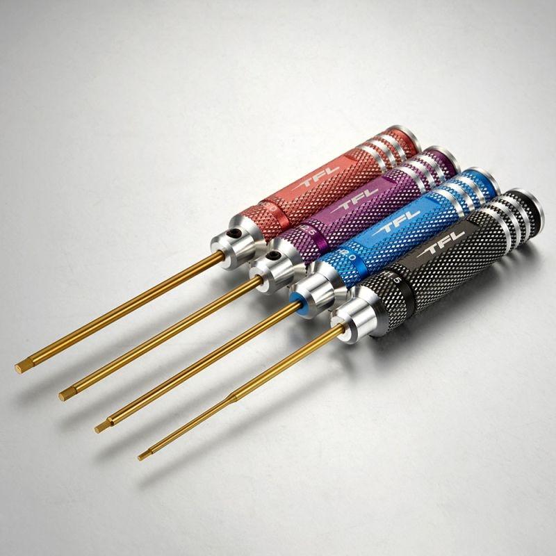 Innensechskantschlüssel Set 1,5/2,0/2,5/3,0mm mehrfarbig