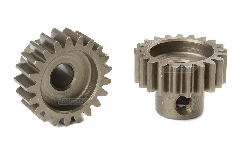 Motorritzel 32 DP 21Z aus gehärtetem Stahl, 5mm Welle