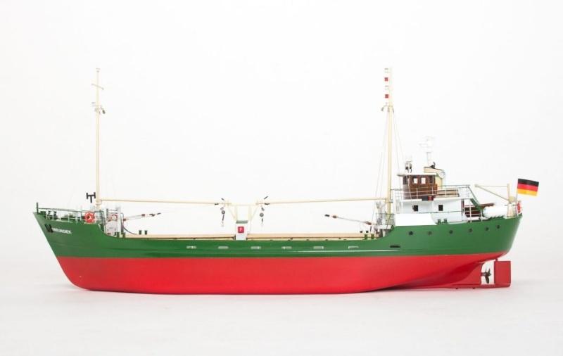 MS Greundiek Küstenmotorschiff Bausatz