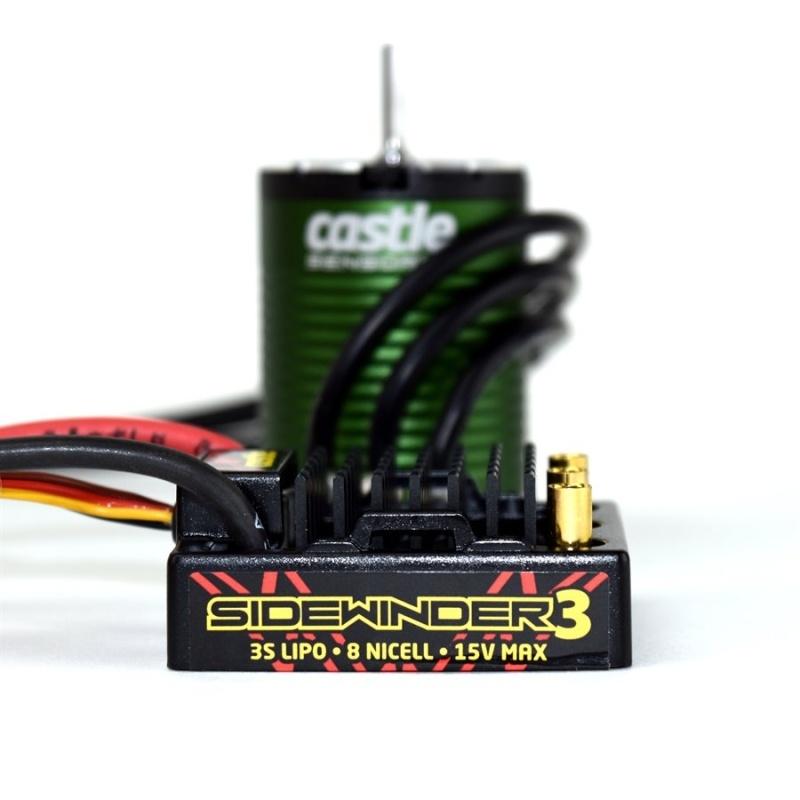Sidewinder 3 1:10 Brushless Combo mit 1406-6900kv Motor