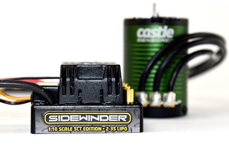 SV3 Sidewinder SCT Waterproof ESC Combo mit 3800Kv Motor