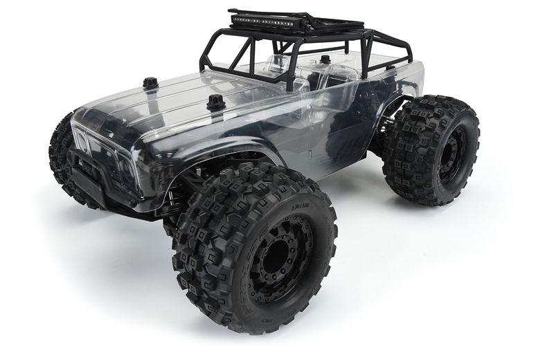 Ambush MT 4x4 mit Trail Cage 1:10 Monster Truck PB Roller
