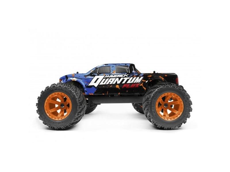 Quantum MT Flux 1/10 4WD Brushless Monster Truck RTR blau