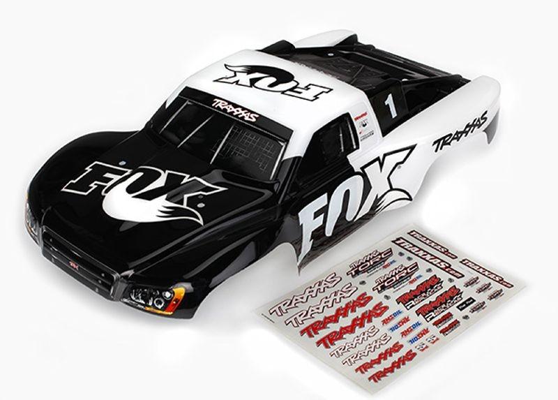 Karosserie lackiert Fox Edition für Slash 4x4 + Raptor