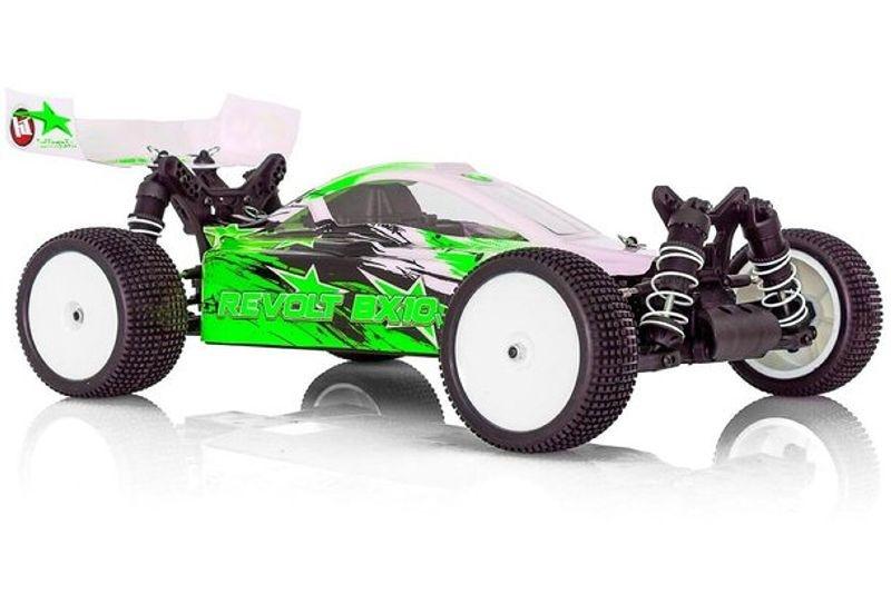 Revolt BX10 4.0 Elektro Buggy 4WD 1/10 2,4GHz RTR grün