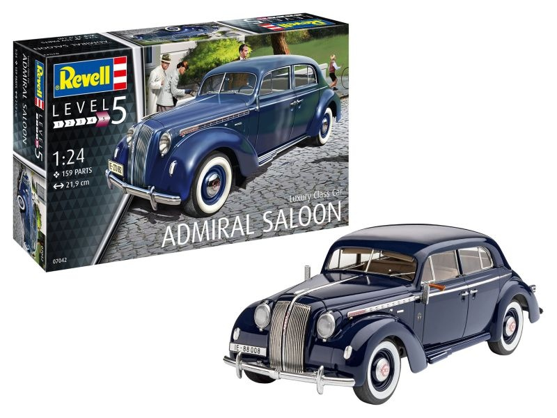 Model Set Luxury Class Car Admiral Saloon 1:24 Bausatz
