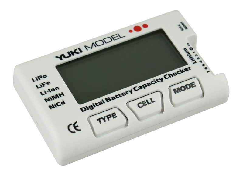 Digital Battery Capacity Checker  NiCd  NiMH  LiFE  LiPo