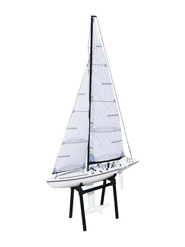 Racing-Segel-Yacht VOYAGER III Baukasten