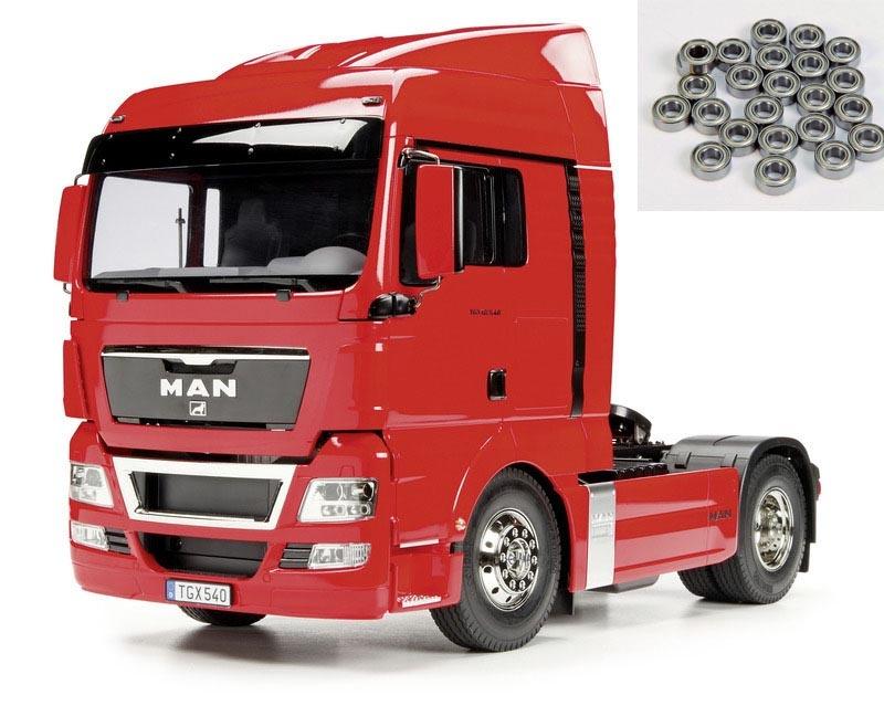 Truck MAN TGX 18.540 XLX 4x2 2-Achs 1:14 + Kugellager