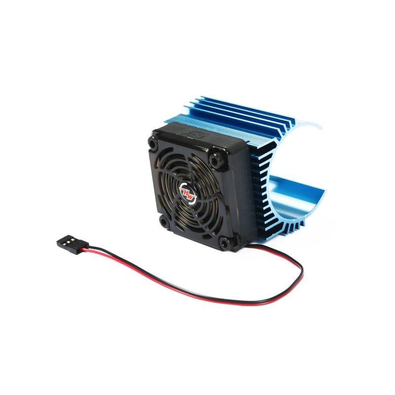 Lüfter mit Kühlrippen für 44mm Motor