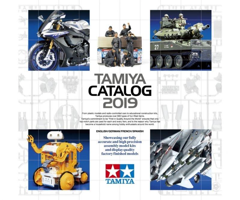 TAMIYA Katalog 2019 (GB/DE/F/E)