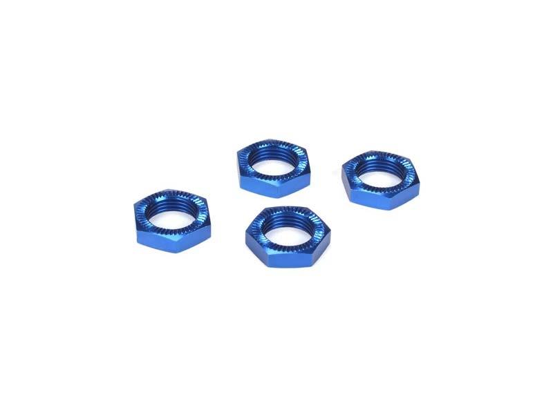 LOSI Radmutter, Blau eloxiert (4): 5TT