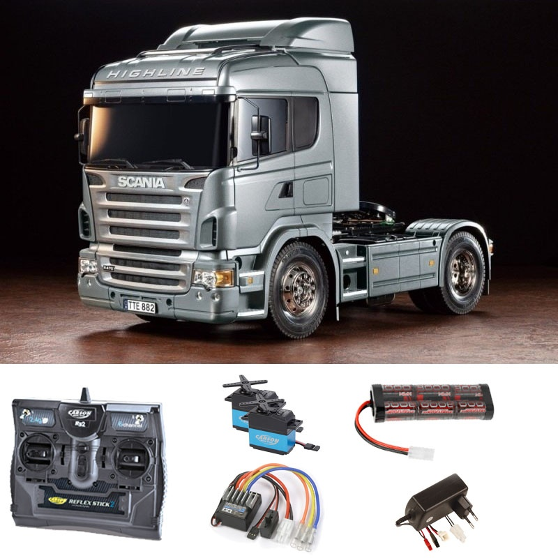 Scania R470 Silber Edition 1:14 Truck RC Komplettset