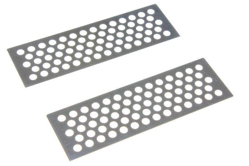 Metall Sandbleche silber als Anfahrhilfe für Crawler (2)