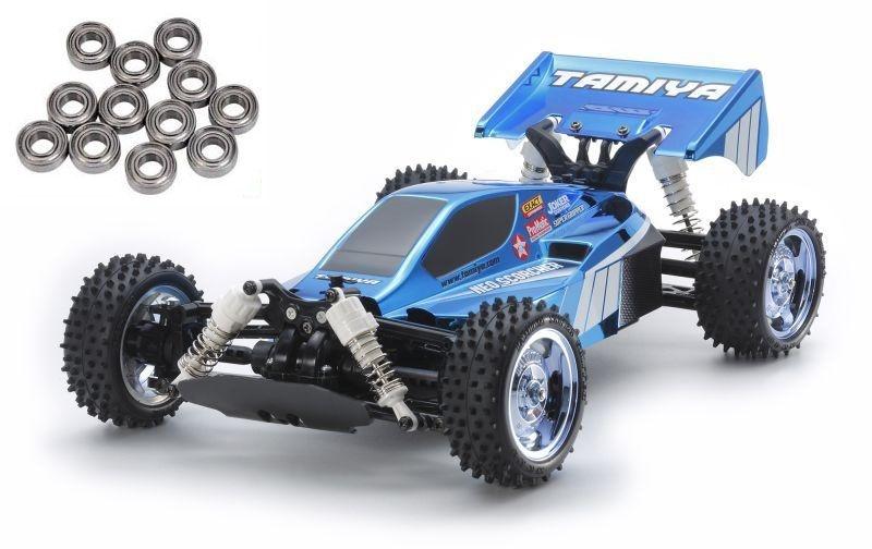 Neo Scorcher Blue Metallic 4WD Buggy 1/10 TT-02B, Kugellager