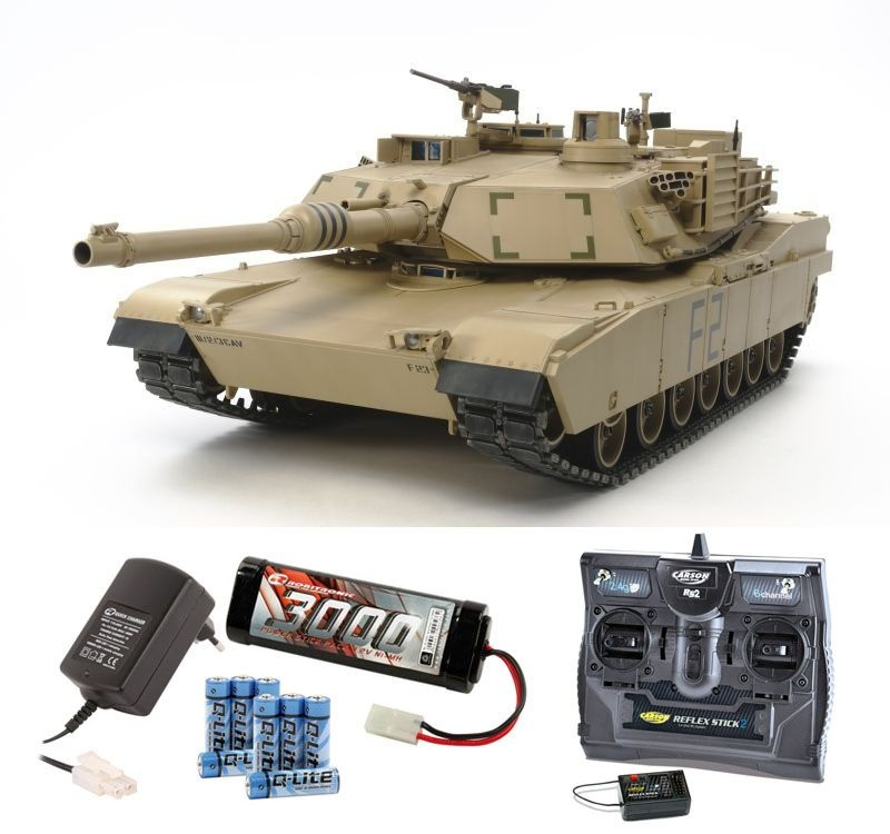 Abrams US KPz M1A2 Full Options RC Panzer 1:16 Komplettset