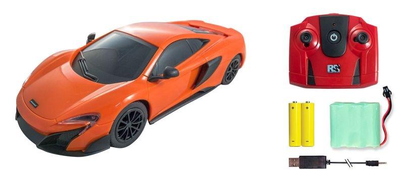 McLaren 675LT Coupé RC-Car 1/24 2,4GHz RTR in orange